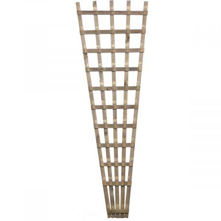 Treillis de jardin 18/60 cm x 180 cm