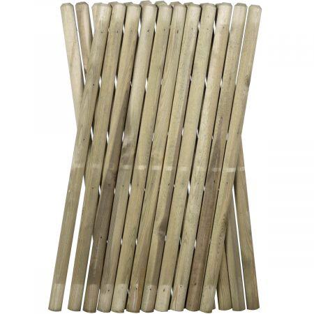 La clôture  en bois traité autoclave classe III - 250 cm x 100 cm PONY