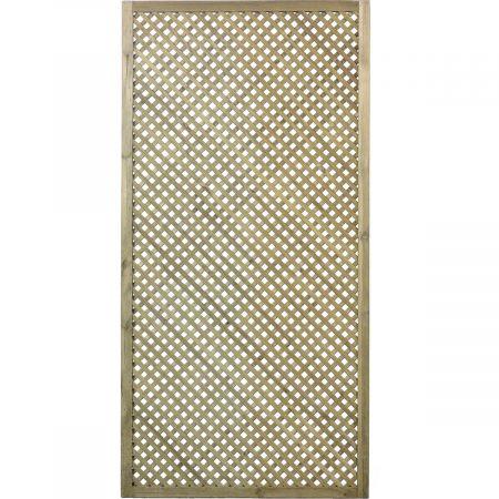 Treillis H 180 x l 90 cm - Epaisseur 3cm - bois traité classe 3- CLEMATITE