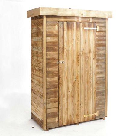 Armoire de jardin bois THEO 0,7 m², 3 étagères