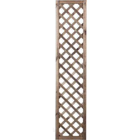 Treillis H 180 x l 40 cm - Epaisseur 3cm - bois traité MARRON classe 3- PREMICES