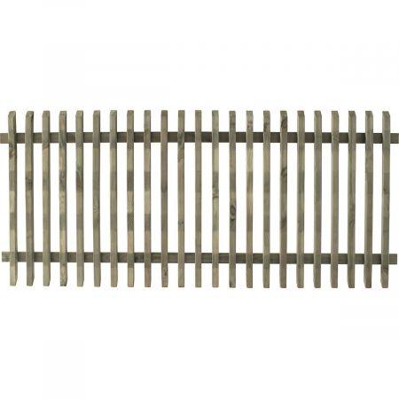 Clôture en bois pour jardin - traitée autoclave 3 - 3X80x180cm - Pika
