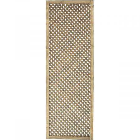 Treillis H 180 x l 60 cm - Epaisseur 3cm - bois traité classe 3 - CLEMATITE
