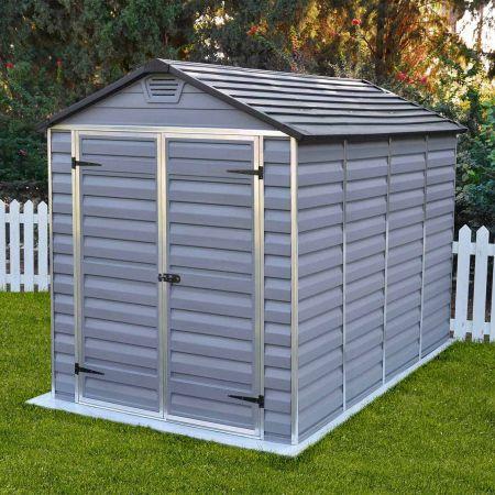 Abri de jardin en polycarbonate ANDY, avec système de ventilation – 185 x 305 x H. 217 cm- 5,64m²