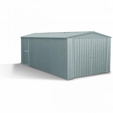 Garage métal MELTON 13,5m², hauteur 206 cm