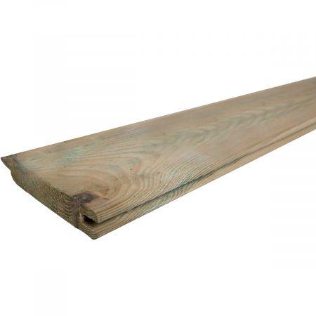 Lame à emboîter Epaisseur 2,8cm- 14x200cm - bois traité classe 3   Yona