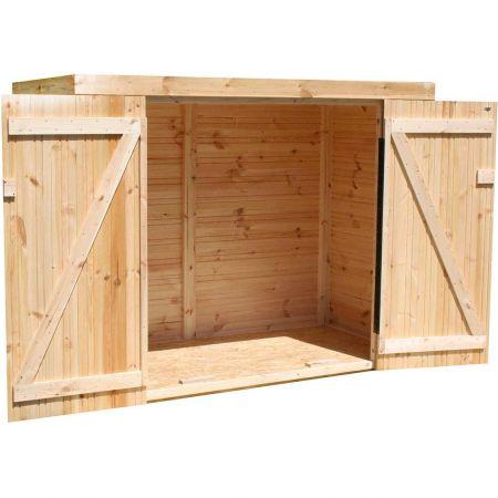 Coffre de jardin bois KIKKA 1,8 m²