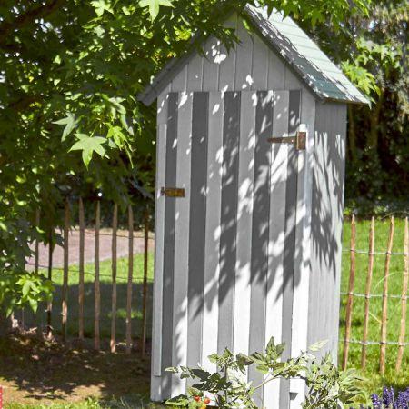 Armoire de jardin bois WISSANT 0,4m², 3 étagères