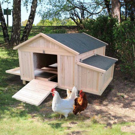 Poulailler simple CASSIE - 2 à 4 poules-1,5m²