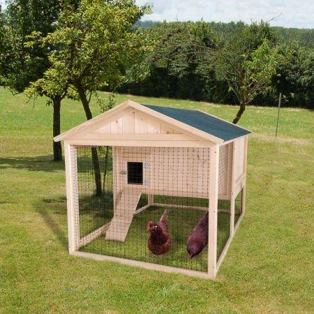 Poulailler avec enclos CASSIE – 2 à 4 poules - 1,5m²