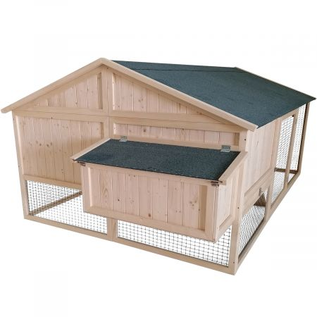 Poulailler avec enclos  CHARLIE – 6 à 8 poules- 5,3m²