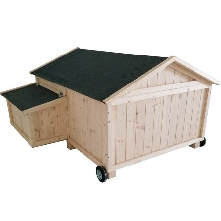 Poulailler mobile simple  CASSIE – 2 à 4 poules - 1,5m²