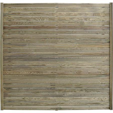 Panneau 180 cm x 176 cm Epaisseur 4 cm- bois traité classe 3- Isya