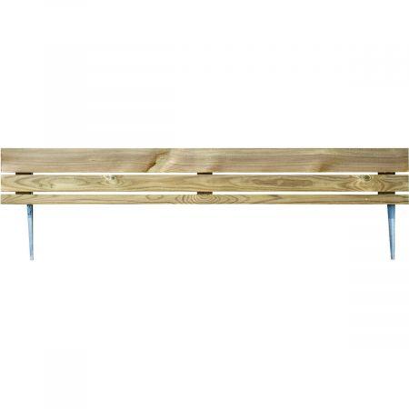 Bordure en bois traité à planter Ep 3,9 cm- 110x30cm - Hakéa