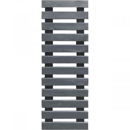 Treillis de jardin gris anthracite 40 cm x 116.8 cm