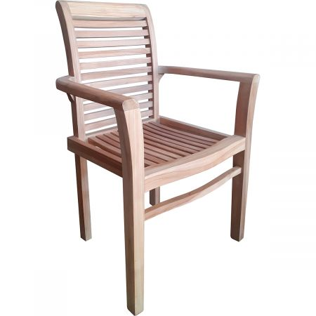 Lot de 3 fauteuils empilables
