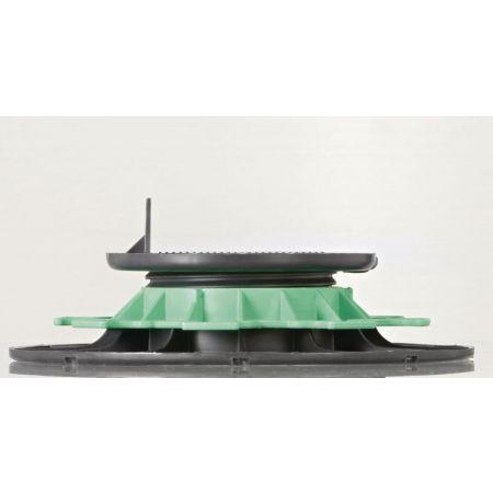 Plot réglable pour lame de terrasse hauteur 40-60mm (à commander par multiple de 8 pièces)